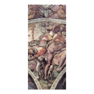 Ceiling Fresco For The Story Of Creation In The Si Customized Rack Card