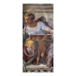 Ceiling Fresco For The Story Of Creation In The Si Custom Rack Cards