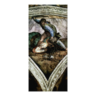 Ceiling Fresco For The Story Of Creation In The Si Rack Cards