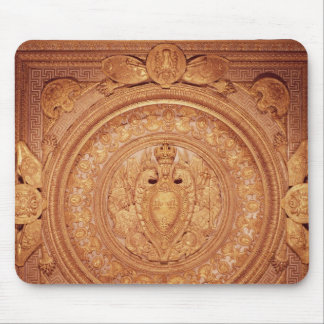 Ceiling from the bedroom of Henri II Mousepads