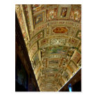 Ceiling in Vatican Museum, Rome Italy Postcard