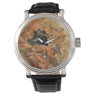 Ceiling Mural Church of San Giuseppe Italy Wrist Watch