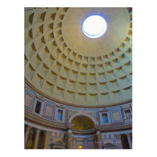 Ceiling of the Pantheon in Rome Italy Postcards