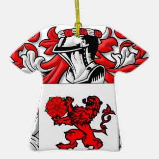 Ceja Coat of Arms Christmas Ornaments