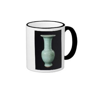 Celadon glazed vase, Yuan Dynasty Mug