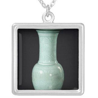 Celadon glazed vase, Yuan Dynasty Personalized Necklace