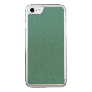Celadon Green Star Dust Carved iPhone 7 Case