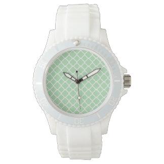 Celadon Quatrefoil Wristwatches