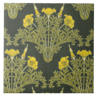 Celandine by M.P. Verneuil Large Square Tile