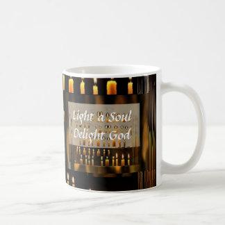 Celeberation of Love and Light Basic White Mug