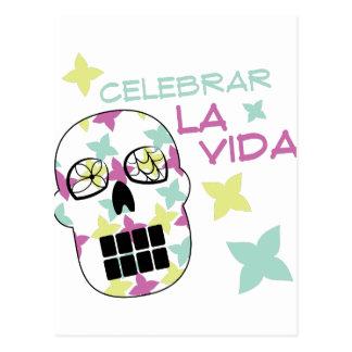 Celebrar La Vida Postcard