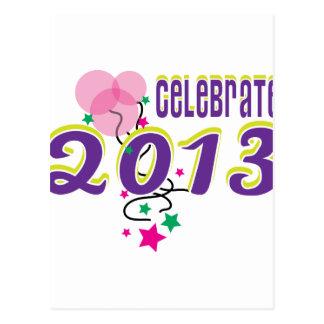 Celebrate 2013 post card