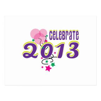 Celebrate 2013 postcard