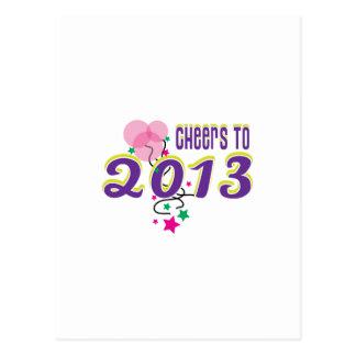 Celebrate 2013 postcards