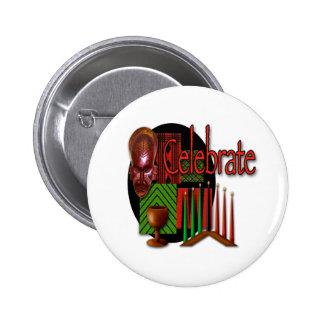 Celebrate 6 Cm Round Badge