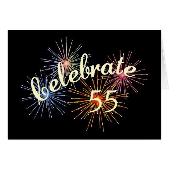 Celebrate a 55th Anniversary Card