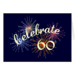 Celebrate a 60th Birthday Greeting Card