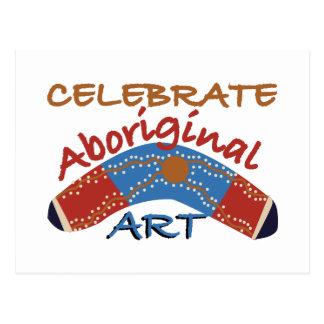 Celebrate Aboriginal Art Postcard
