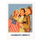 Celebrate America, 4th of July Postcards