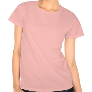 Celebrate America Flag Font #1 Ladies T-Shirt