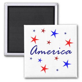 Celebrate America Refrigerator Magnet