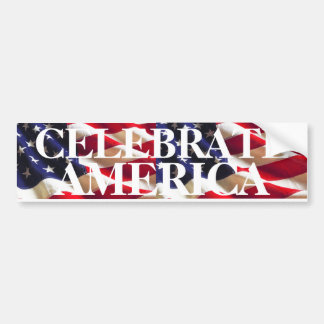 Celebrate America - The Answer Bumper Sticker
