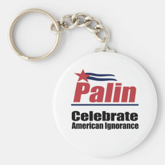 Celebrate American Ignorance Key Ring