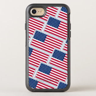 Celebrate American US Flag OtterBox Symmetry iPhone 7 Case