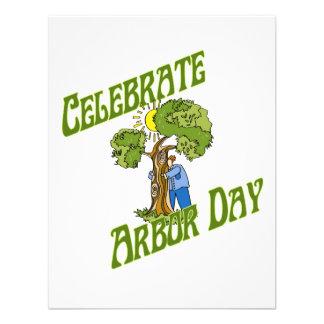 Celebrate Arbor Day Custom Invitation