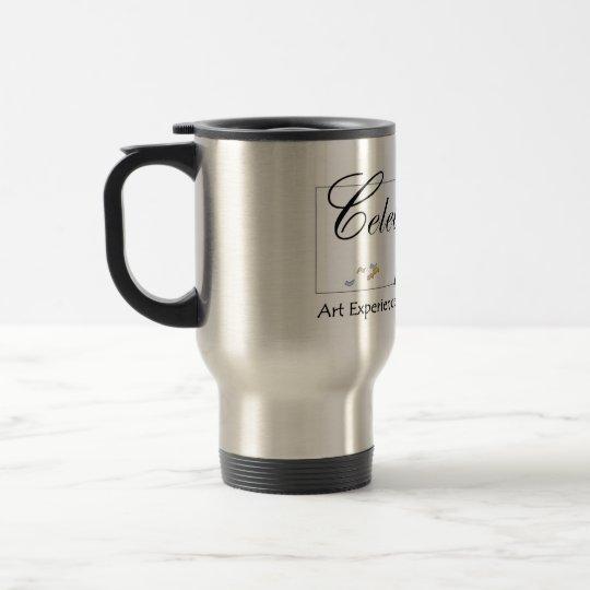 Celebrate Art travel mug