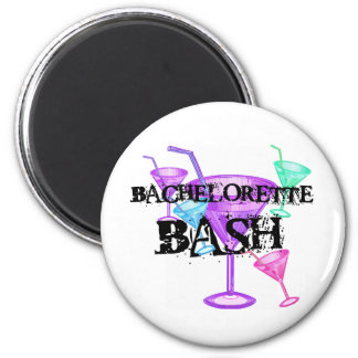 Celebrate Bachelorette Bash 6 Cm Round Magnet