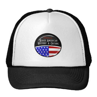 Celebrate Black American History Glossy Emblem Cap