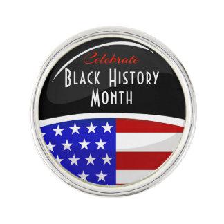 Celebrate Black History Month Event Lapel Pin