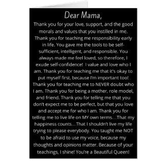 Celebrate Black Mothers Greeting Card