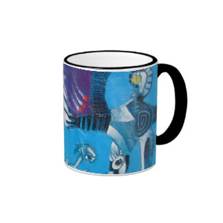 CELEBRATE BRASIL RINGER COFFEE MUG