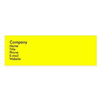 Celebrate Double-Sided Mini Business Cards (Pack Of 20)