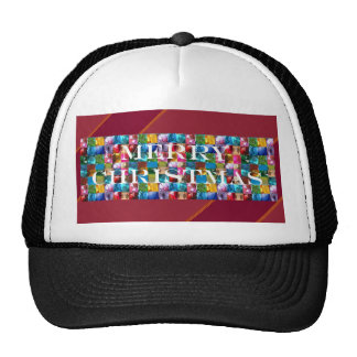 Celebrate CHRISTMAS Crazy Colorful n SHARE Joy Hat