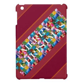 Celebrate CHRISTMAS :  Crazy Colorful n SHARE Joy iPad Mini Cover