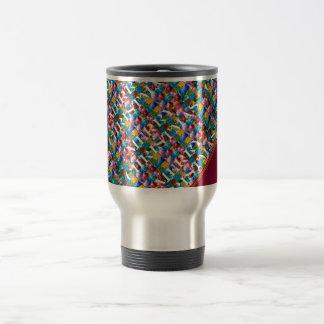 Celebrate CHRISTMAS :  Crazy Colorful n SHARE Joy Mugs
