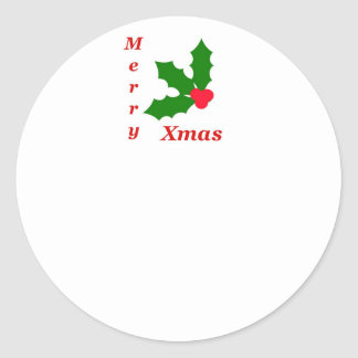 Celebrate Christmas! Classic Round Sticker