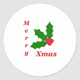 Celebrate Christmas! Round Stickers