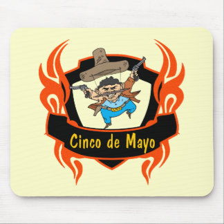 Celebrate Cinco de Mayo T-shirts and Gifts Mouse Pad