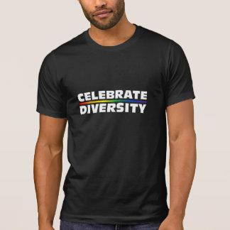 Celebrate Diversity Dark Destroyed T-Shirt