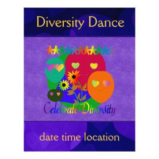 Celebrate Diversity 21.5 Cm X 28 Cm Flyer
