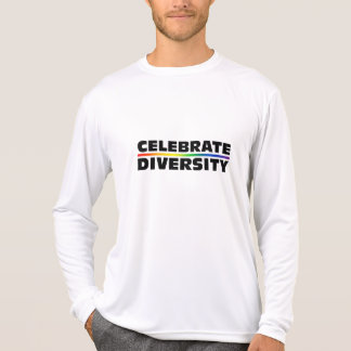 Celebrate Diversity Performance Micro-Fiber Long S T-Shirt