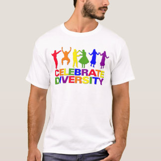 Celebrate Diversity shirt - choose style