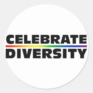 Celebrate Diversity Sticker