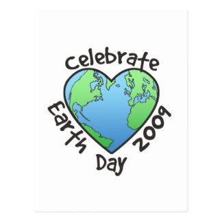 Celebrate Earth Day 2009 Postcard
