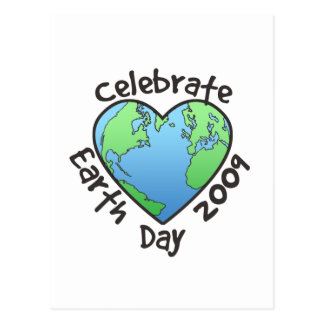 Celebrate Earth Day 2009 Postcards