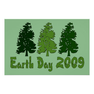 Celebrate Earth Day 2009 Poster